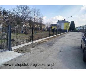 montaż ogrodzeń, bram oraz furtek