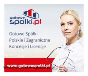 Sprzedaż licencje na spedycje i transport 603557777 KONCESJE PALIWOWE OPC, spółki zagraniczne z VAT