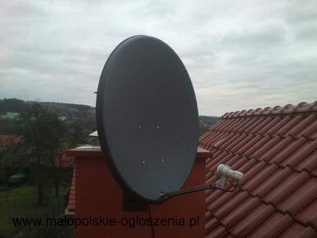 24H! MONTAŻ SERWIS ANTEN SATELITARNYCH POLSAT NC PLUS ORANGE TV NAZIEMNA