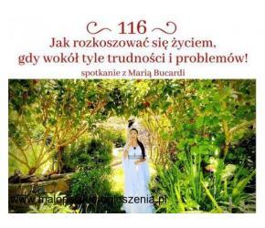 Spotkanie 116 online z Maria Bucardi