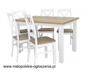 Stół rozkładany z krzesłami tanio - zobacz na BirdMeble.pl