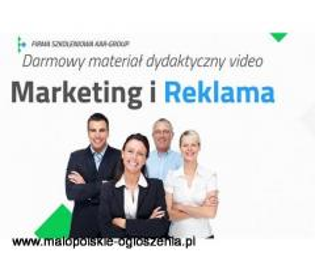 Darmowy kurs Marketing i Reklama / kurs video