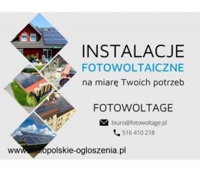 Fotowoltage - fotowoltaika dla domu i firmy