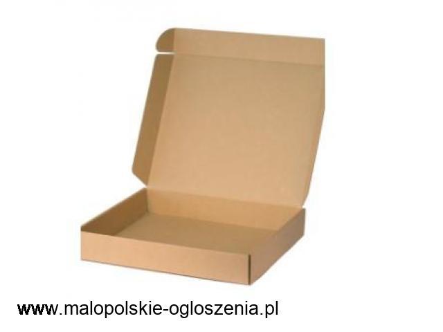 Opakowania kartonowe składane wysyłkowe