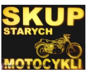 Skup starych, zabytkowych motocykli, motorowerów, motorów!