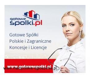 Gotowe Spółki Zagraniczne z VAT UE Niemcy, Łotwa, Bułgaria, Czechy, Słowacja, Hiszpania KONCESJE PAL