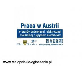 DOCIEPLENIOWIEC - praca w Austrii