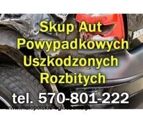 Skup aut Powypadkowych - rozbite, uszkodzone, w każdym stanie Kraków