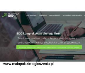 Zakładanie jednostki gospodarczej oraz rejestracja BDO przez Internet