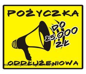 POŻYCZKA do 25.000 zł - pomoc dla zadłużonych lub konsolidacja!