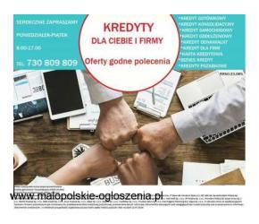 Kredyt dla Ciebie i firmy, cała Polska złóż wniosek przez TELEFON