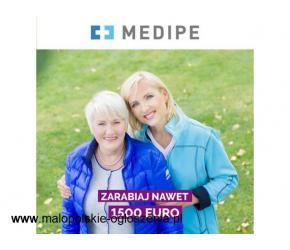 opiekun / opiekunka osoby starszej Niemcy BERLIN / 400 EURO premii świątecznej