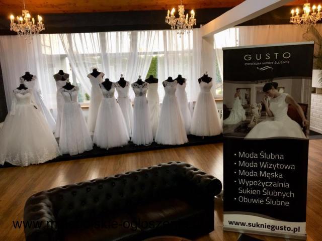Suknie ślubne tworzone z pasją- Gusto Centrum Mody Ślubnej