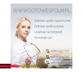 KONCESJE PALIWOWWE OPC, LICENCJE NA TRANSPORT MIĘDZYNARODOWY, KRAJOWY SPEDYCJE 603557777