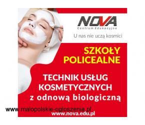 Technik usług kosmetycznych NOVA CE KRAKÓW