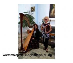 HARFA & SKRZYPCE oprawa muzyczna Ślubu