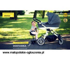 Dostawki do wózka dziecięcego
