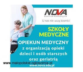 Opiekun medyczny NOVA CE Kraków