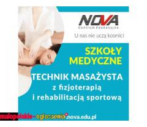 Technik masażysta NOVA CE Kraków