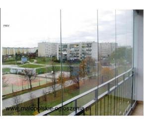BEZRAMOWA zabudowa balkonów i tarasów, bezramowe zabudowy balkonów i tarasów