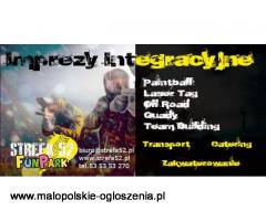wieczory kawalerskie catering paintball quady
