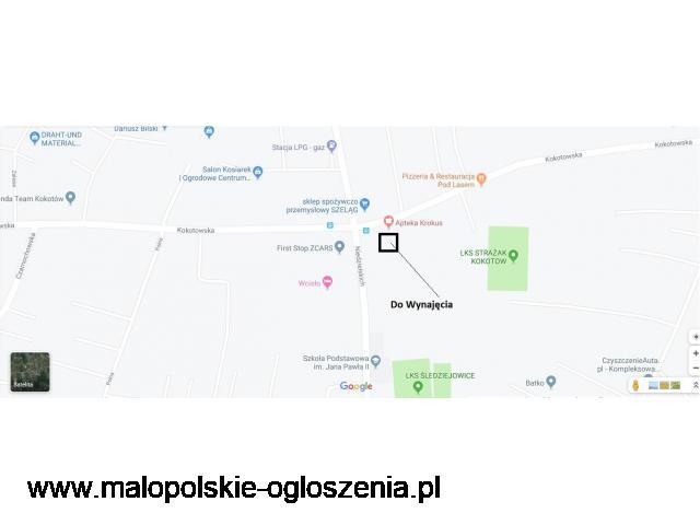 Do Wynajęcia lokal pod działalność biura, usługi, itp w Kokotów GM. Wieliczka