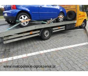 Pomoc drogowa chrzanów www.marhol.pl laweta 24 h holowanie samochodów