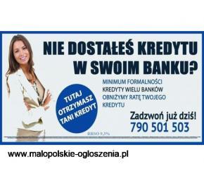 Nie dostałeś kredytu w swoim Banku ? Nasza oferta jest dla Ciebie!