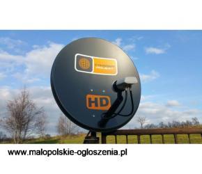 Montaż anten satelitarnych CAŁODOBOWO w niedzielę święta i sylwestra NC PLUS CYFROWY POLSAT