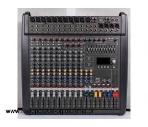 Wysokiej jakości wzmacniacze, miksery, mikrofony estradowe