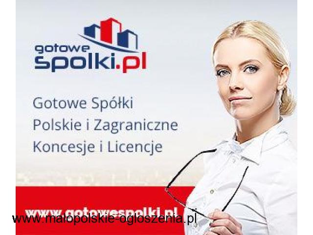 Gotowe Spółki Akcyjne, Spółki z VAT EU 603557777 KONCESJA NA HANDEL PALIWAMI OPC